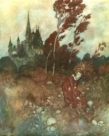 dulac paintings | French illustrator Edmund Dulac began his career in the first decade ...
