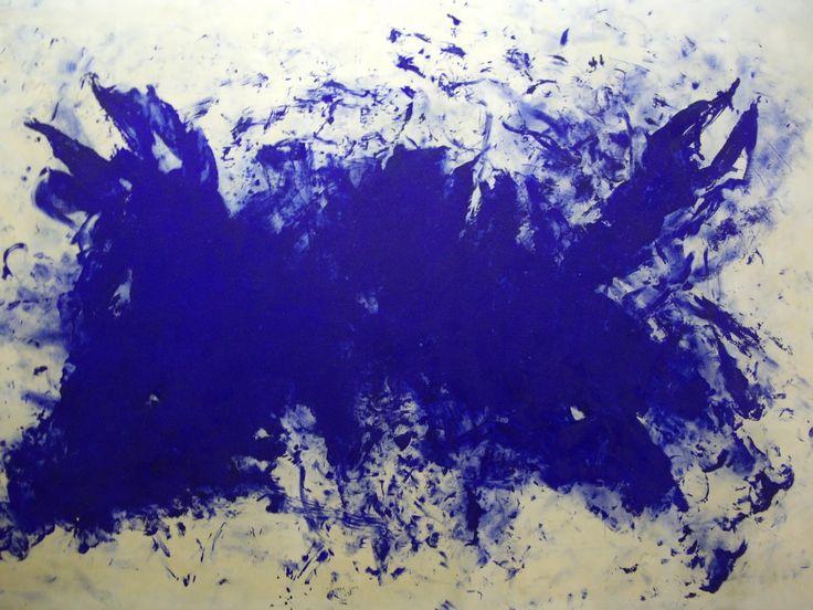 Yves Klein -     Grande Anthropophagie bleue Hommage א Tennessee Williams (ANT 76), 1960, 275 x 407 cm.