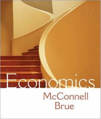 Economics by Campbell McConnell. $134.26. Publisher: McGraw-Hill/Irwin; 17th edition (2008). 808 pages. Publication: 2008. Edition - 17th