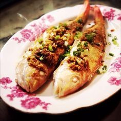 Chinese Pan Fried Fish with Sauce 煎紅衫魚