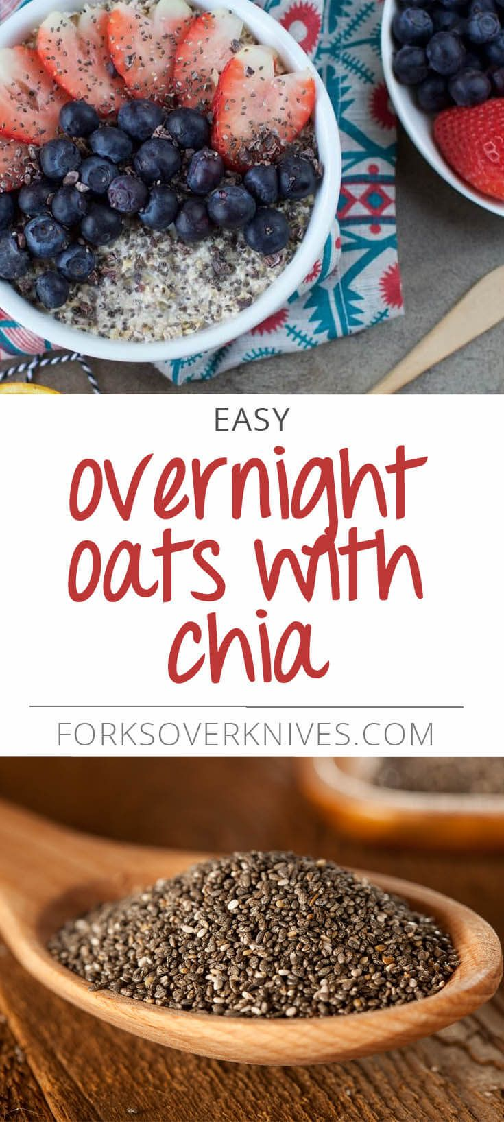 To get through those busy weeks, try this easy and healthy breakfast that you can make the night before. Instructions 1)Place oats, liquid, chia seeds, maple syrup, cinnamon, and vanillainto a 16-ounce mason jar or container of choice. Mix well....  Read more