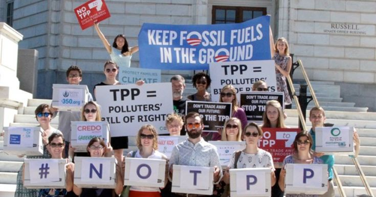 More TPP Trickery: Keystone Pipeline Company Demands $15B Under Prior Trade Deal | Common Dreams | Breaking News & Views for the Progressive Community