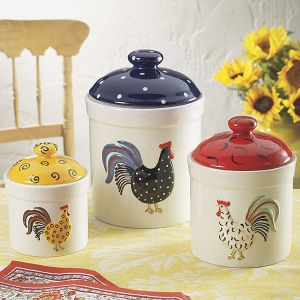 133 best images about Rooster Canisters on Pinterest | Set ...