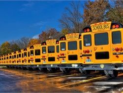 The 2016 total of school bus sales in the U.S. and Canada, 40,925 units, is the highest mark for the industry in the past 10 years.