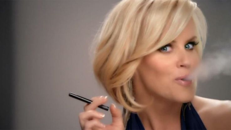Jenny Mccarthy - I like the hair - not the smoking