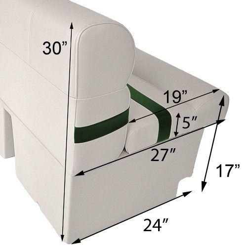 "55"" Pontoon Boat Seats | PontoonStuff.com"
