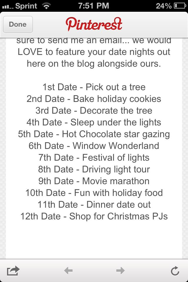 cute christmas date ideas for the family or an actual date night