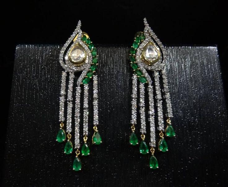 Beauty that lasts a lifetime!  #Savio #jewellery #earrings #diamonds #jaipur #jewelry