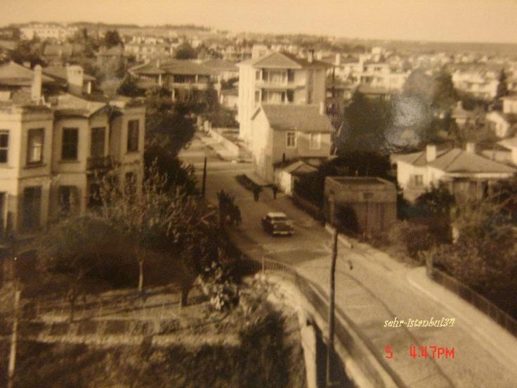 Bostancı Köprü üstü - 1965 Sanırım bostancı derbent köprüsü olarak geçiyordu bu köprü.