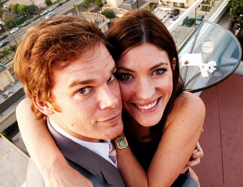 Michael C Hall  Jennifer Carpenter.....I thought they made a great couple