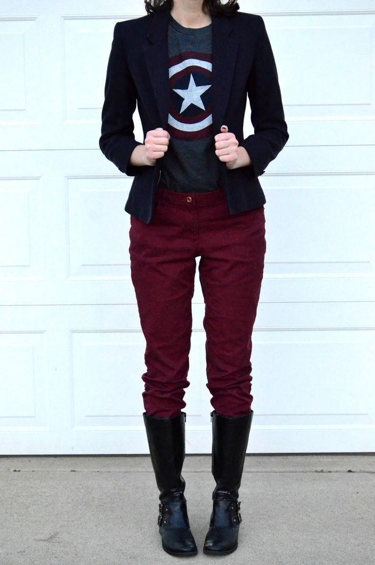 What I Wore - Graphic Tee + Blazer { Friday Haul}
