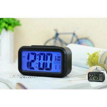 Digital Alarm Clock Smart LED - BLACK
