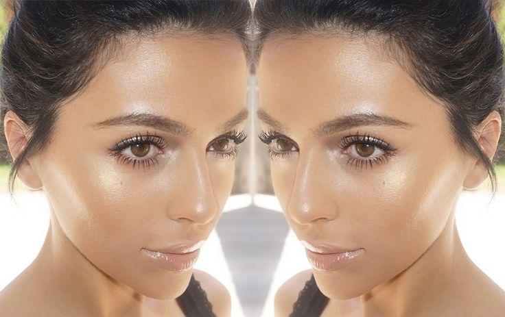 Καλοκαιρινό λαμπερό φυσικό μακιγιάζ. Summer 2017. Makeup Trends
