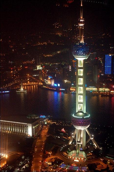 <동방명주> 상하이 푸둥 2007.02.11