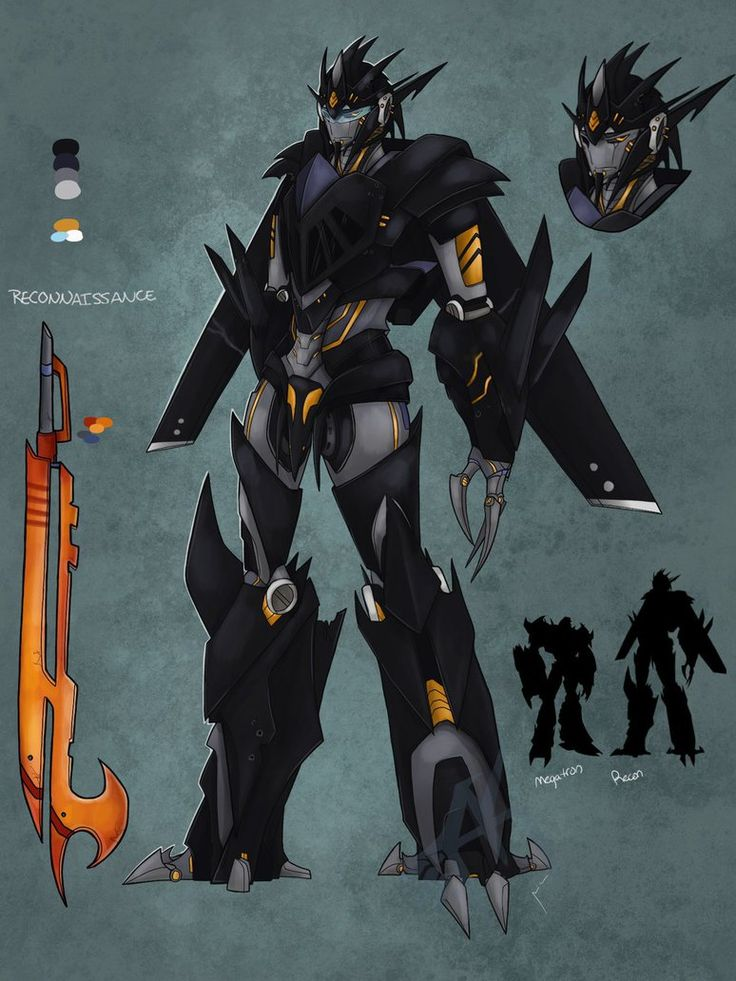 Tfp oc: Reconnaissance (updated) by ForgottenHope547 on deviantART