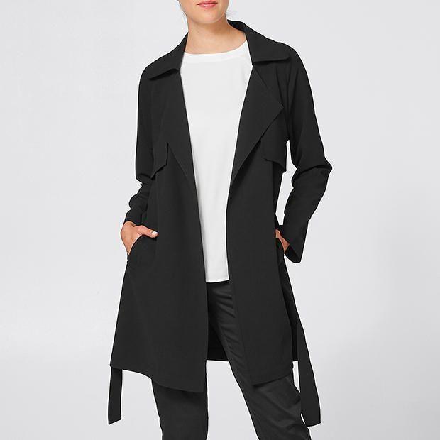 $50. Soft Trench Coat