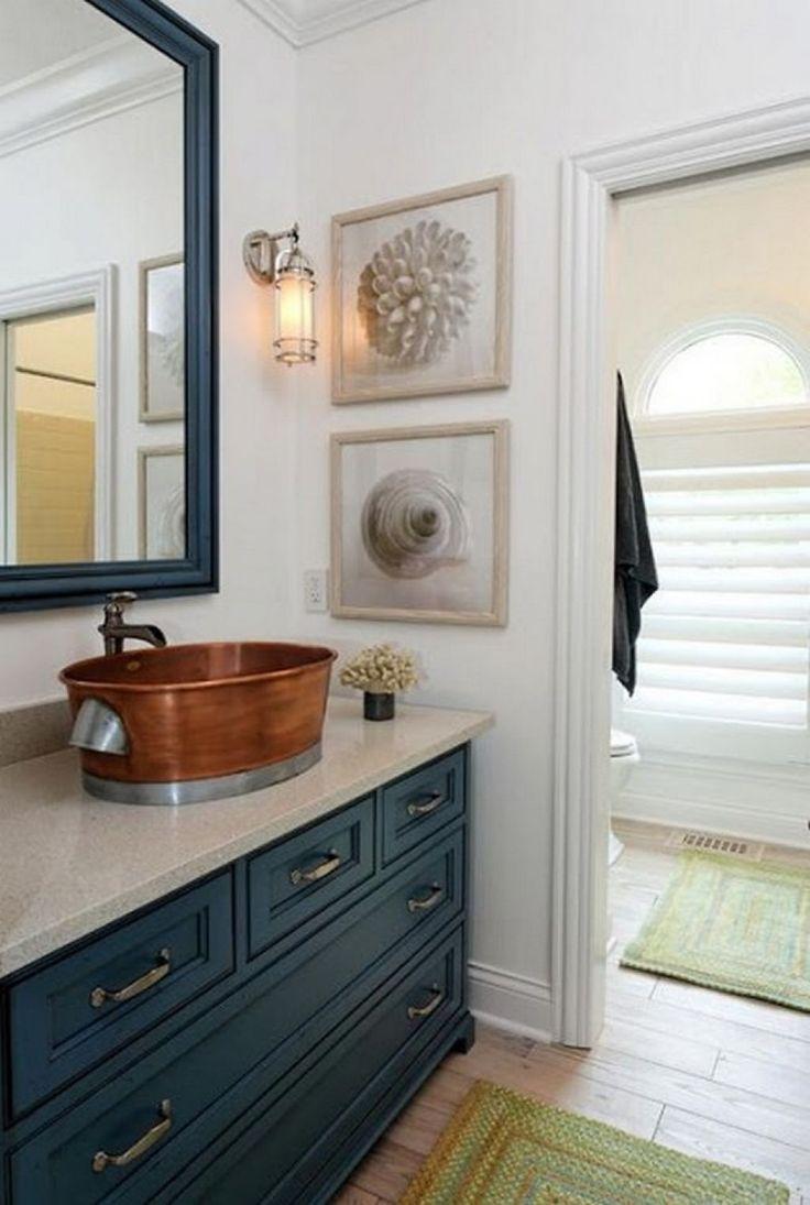 Copper Vessel Sinks Ideas Copper Bathroom