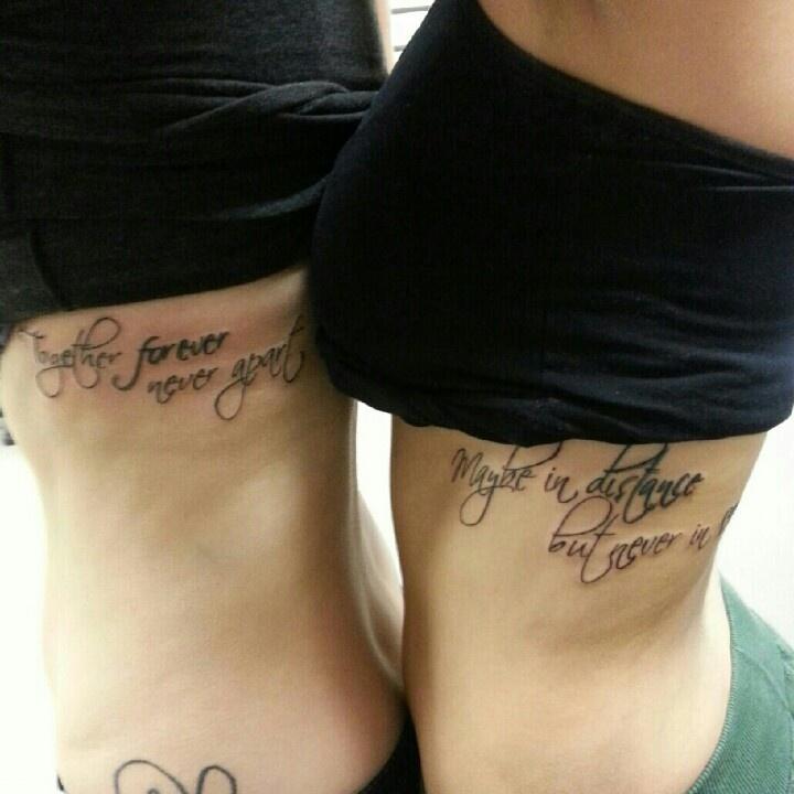Together Forever Never Apart Tattoo Wwwpicswecom