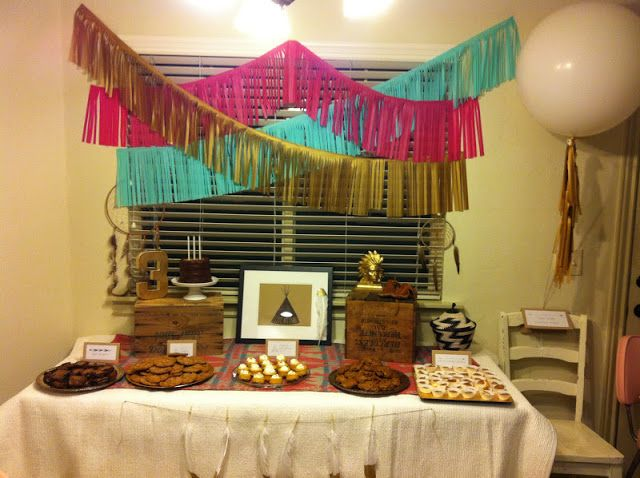 Indian-inspired birthday party