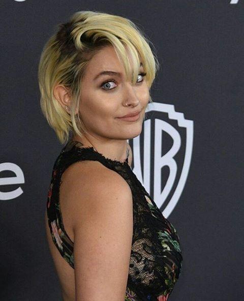 Paris Jackson January 2017 at the Golden Globe Awards