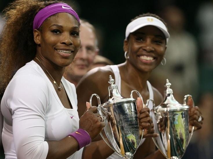 Venus and Serena #girlskickass