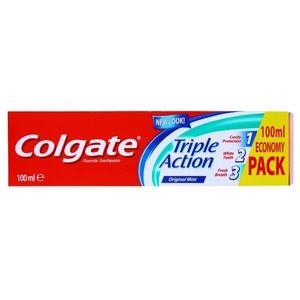 Colgate Triple Action Toothpaste 100ml 3.38 fl oz