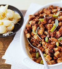 Old-Fashioned Bread Stuffing recipe  #SKECHERSThanksPinToWin