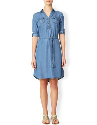 Callie Tencel Shirt Dress Monsoon £49