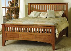 Amish bedroom furniture: Get stylish Amish bedroom furniture sets handmade by Amish Masters. Solid Amish oak bedrooms. Free shipping East of the Rockies