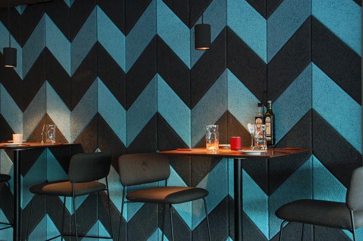 Vitos i Vollen, Asker // Baux akustikkpaneler på vegg