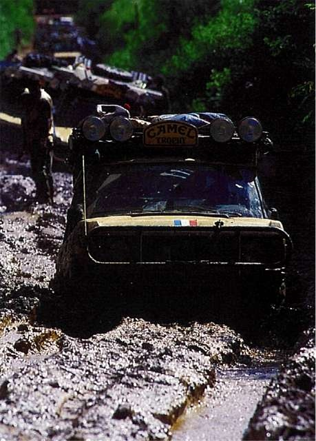 Stuck On Mud Camel Trophy Pinterest Land Rovers