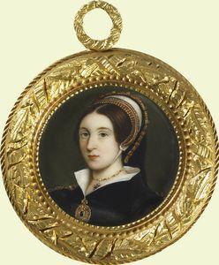 Elizabeth Seymour, Sister of Queen Jane Seymour, Miniature Copy of Holbein Portrait | Flickr - Photo Sharing!