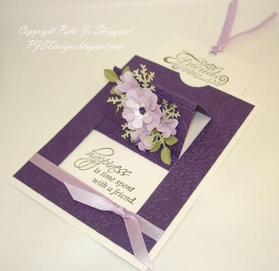 Flowery Surpise Pop Up Card by PJStamps - Cards and Paper Crafts at Splitcoaststampers