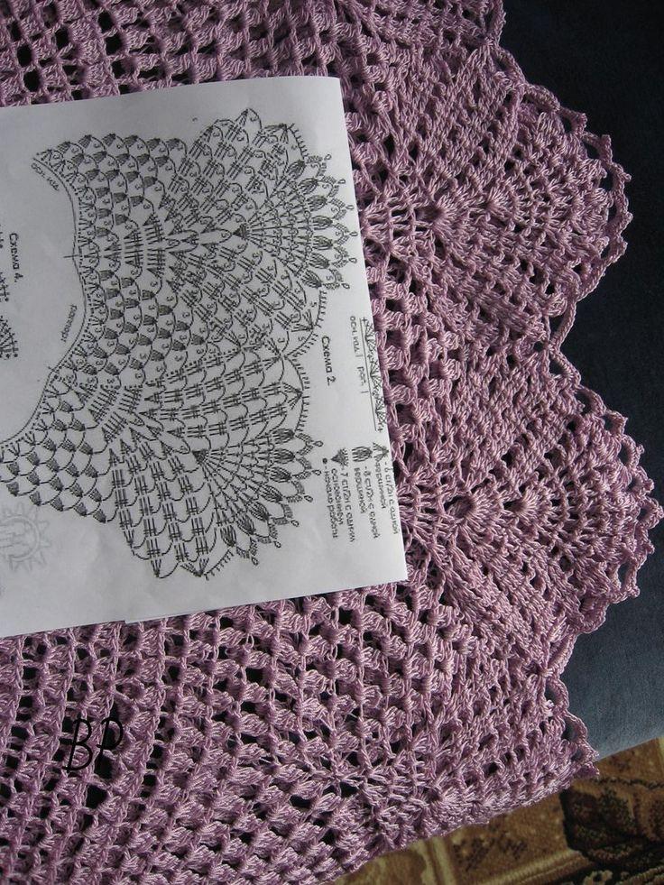 Crochet lace dress - pattern 2