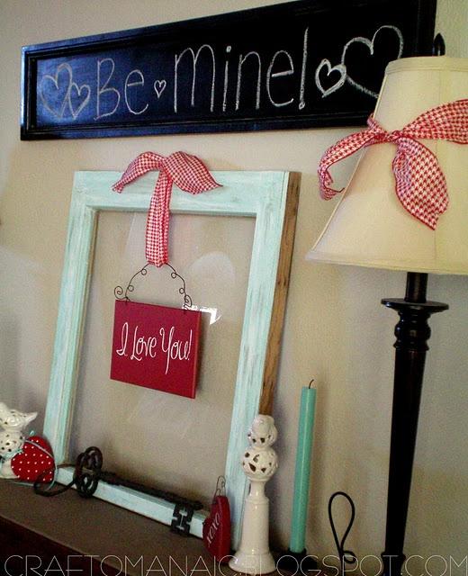 Valentine Decor Ideas.