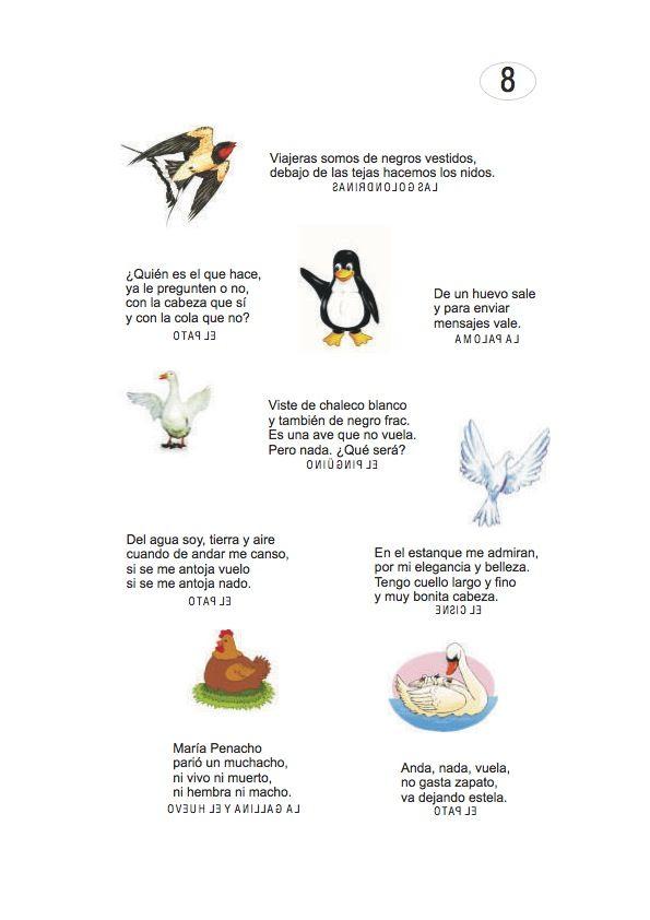Los duendes y hadas de Ludi: Adivinanzas de Animales