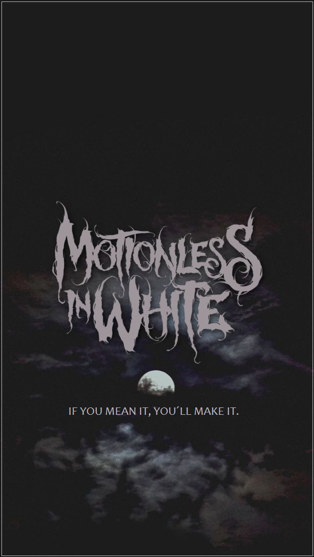 Kenzie Blackhorror — dreamscape-wer:   Motionless In White lockscreens...