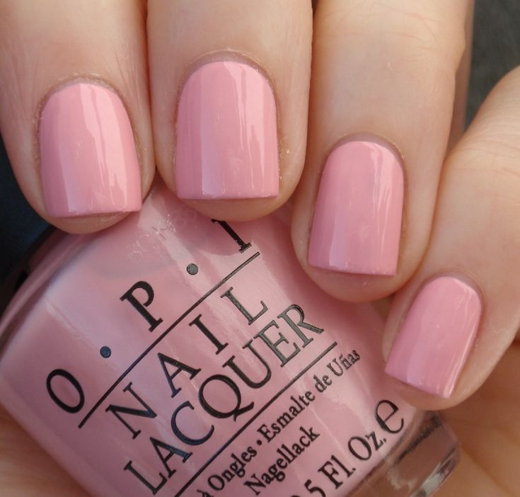 OPI Pink Friday. I can't believe I'm liking all these pink polishes. LOL