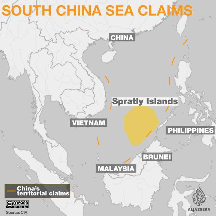 Tribunal Internacional de Justiça em Haia: China violou zona econômica exclusiva das Filipinas