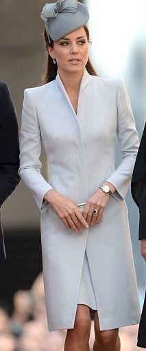 Alexander McQueen Slate Grey Coat (Custom)
