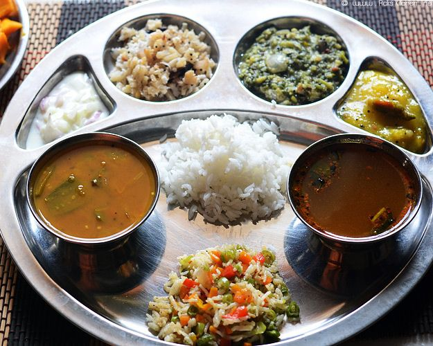 Meal idea - South Indian