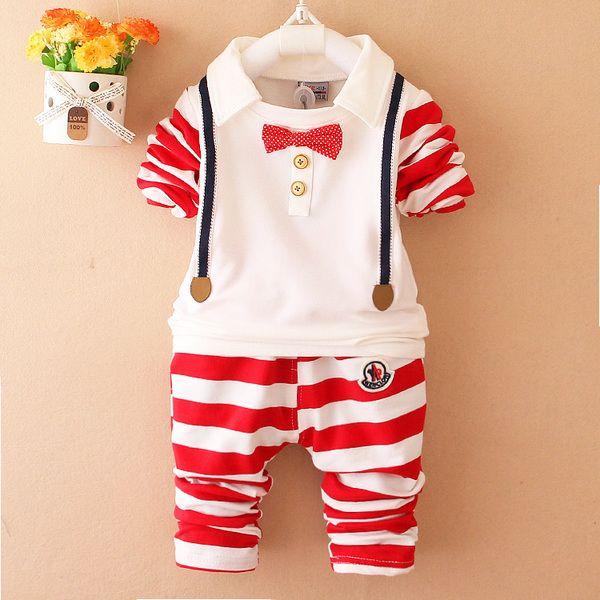 Мужской костюм ребенка весной 0-1-2-летний мальчик весной с длинными рукавами одежды из 3-6-месячного возраста детской одежды