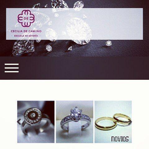 ¡Muy felices del lanzamiento de nuestra nueva página web!  Visítanos en www.ceciliadecamino.com  Podrás encontrar toda la información que necesitas sobre cotizaciones, clases, pedidos, etc.   Nos vemos!    #escuelajoyeriacdc #joyeriachilena #instachile #instasantiago #chilegram #orfebreria #joyeria #santiagodechile #jewels #jewelry #jewellery #joyachilena #madeinchile