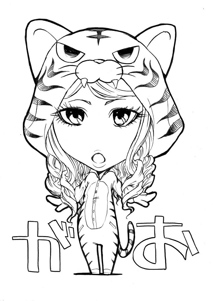 Chibi tigrotta