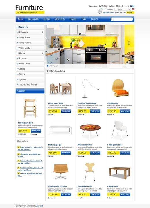Who liked it? I loved it!!   Furniture for Happy Life ZenCart Template CLICK HERE! live demo  http://cattemplate.com/template/?go=2j7tM4W