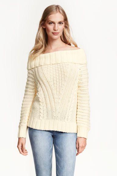 Jersey hombro descubierto | H&M