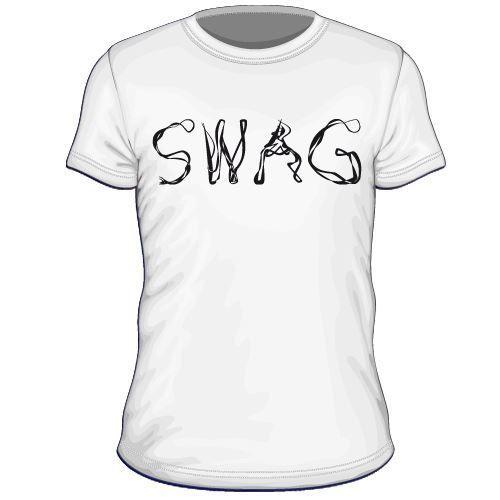 Maglietta personalizzata Swag