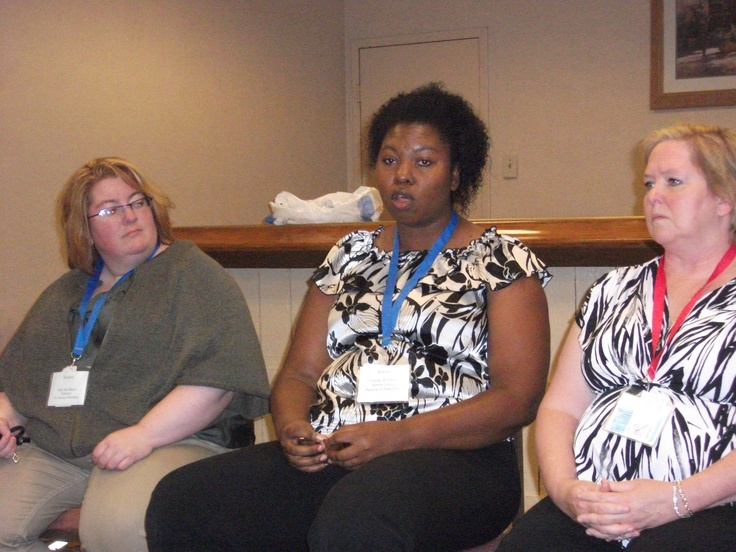 Author Yvette Hines and friends at 2012 conference in Gatlinburg TN.