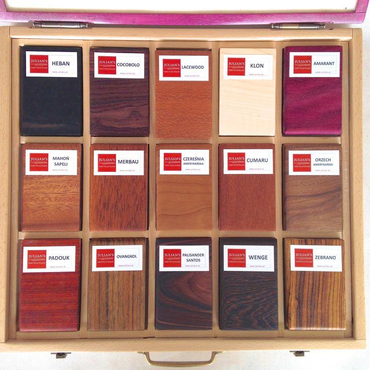 Solid woods samples PREMIUM set
