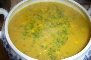 Bartjes Mexicaanse courgette-maissoep